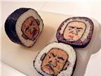 Độc đáo những cuộn sushi bắt mắt và ngon lành