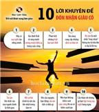 10 lời khuyên để đón nhận giàu có