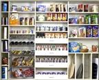 Bí quyết sắp xếp thực phẩm ngăn nắp đón Tết
