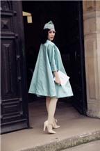 Lý Nhã Kỳ tao nhã với phong cách quý tộc tại Pháp