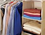 12 mẹo dọn tủ quần áo cuối năm