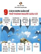 9 cách đơn giản để trở thành người giàu có