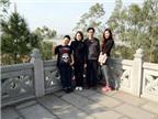 Đầu năm, đi lễ chùa cầu cho gia đình sức khỏe