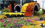Nghệ thuật từ rau, củ, quả trên đường hoa Nguyễn Huệ