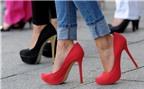 Giảm đau chân khi đi giày cao gót
