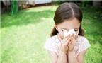 Cha mẹ nên làm gì khi trẻ bị sổ mũi?