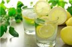 10 lợi ích của nước chanh