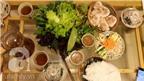 Nếm thử bánh tráng cuốn thịt heo Trảng Bàng ở Văn Cao