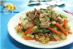 Thịt xào rau củ kiểu Thái ngon mắt ngon miệng