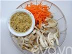 Nấm bào ngư xào sả giản dị, ngon cơm