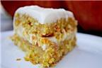 Mềm thơm, hấp dẫn với món bánh cà rốt dừa