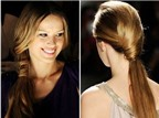 Bốn kiểu tóc đuôi ngựa tuyệt đẹp cho mùa hè