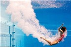 Đi tiểu trong bể bơi gây bệnh về đường hô hấp