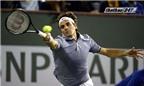 Idian Wells: Federer vào bán kết một cách 'tốc hành'