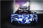 Siêu xe Lamborghini Aventador màu Arctic Camo tuyệt đẹp