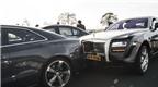 Rolls-Royce Ghost húc đít BMW M5