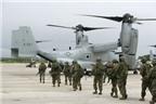 Mỹ điều hai phi đội MV-22 Osprey tập trận ở Hàn Quốc