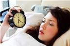 Bí quyết trị mất ngủ cực hiệu quả