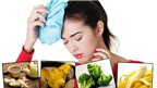Thực phẩm trị chứng đau đầu