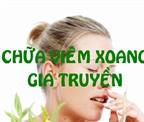 Cẩn trọng khi dùng thuốc viêm xoang gia truyền