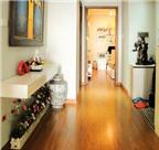 Phong thủy: Bố trí tủ giầy và đèn tranh ở sảnh vào nhà