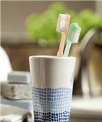 4 sai lầm khi bảo quản bàn chải đánh răng