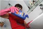 Nước tẩy nhà vệ sinh độc hại như thế nào?
