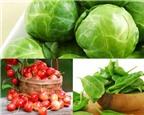 Bí quyết chọn và rửa rau quả không giun sán