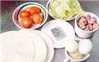 Học cách làm bánh Tacos của người Mexico