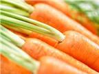 Lợi ích tuyệt vời của cà rốt