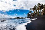 10 bãi biển cát đen ấn tượng nhất thế giới