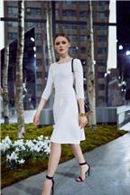 F5 váy tiệc tùng thành trang phục đời thường với 3 cách đơn giản