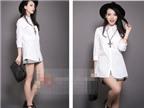 5 phong cách linh hoạt với áo sơmi trắng cơ bản