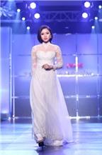 Nhà thiết kế Minh Châu khoe áo dài cách tân