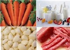 Cách phòng tránh sởi bằng thực phẩm