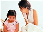 Mẹ học cách mắng con trong vòng 1 phút