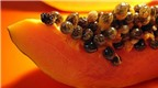 Làm đẹp bằng hạt bưởi, hạt dưa, hạt đu đủ...
