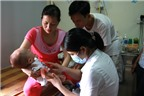Cách chăm sóc trẻ nhiễm virut đường hô hấp