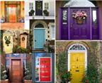 Chọn màu sắc của cửa chính sinh mệnh chủ