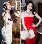 Bí quyết diện váy quây chuẩn như sao Việt