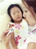 Cách đo thân nhiệt cho trẻ nhỏ
