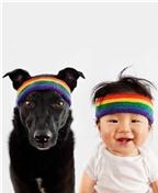 Đáng yêu đồ đôi dành cho bé và cún con