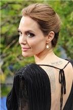 Phong cách trang điểm sexy của Jolie trên thảm đỏ