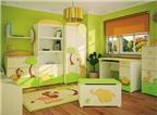 Phòng trẻ em nên chọn màu sắc khoẻ khoắn