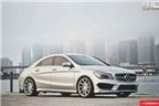 Mercedes-Benz CLA 250 cách điệu với mâm Vossen CVT
