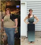 Cô nàng ngoại cỡ giảm cân tới 80kg mà không cần ăn kiêng cực khổ