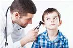Điều trị viêm tai giữa ở trẻ em