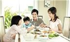5 nguyên tắc bạn nên dạy con trên bàn ăn