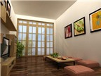 Treo tranh cát tường trong phòng khách