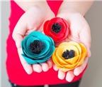 Thêm một cách làm hoa vải siêu tốc mà đẹp